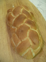 How To Make A 1lb Six Strand Plaited White Bread Loaf - Video